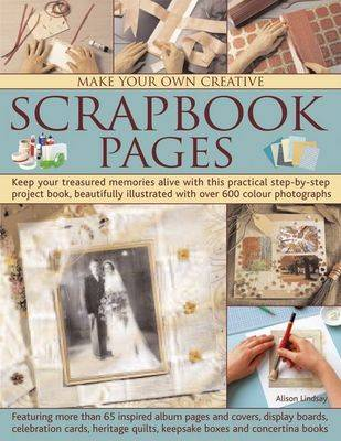 Make Your Own Creative Scrapbook Page (Paperback)