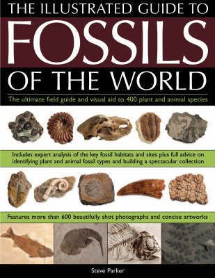 Illustrated Guide to the Fossils of the World: A Full-colour Directory and Identification Aid to Over 250 Plant and Animal Fossils (Paperback)
