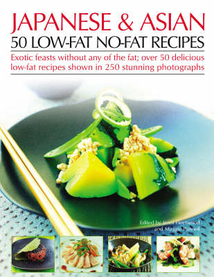 Japanese and Asian: 50 Low-fat No-fat Recipes (Paperback)