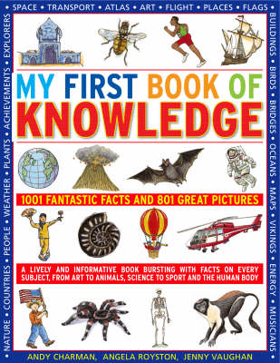 My First Book of Knowledge: 1001 Fantastic Facts and 801 Great Pictures (Paperback)