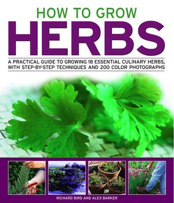 How to Grow Herbs: A Practical Guide to Growing 18 Essential Culinary Herbs, with Step-by-step Techniques (Paperback)