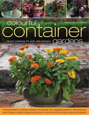 Colourful Container Gardens (Paperback)