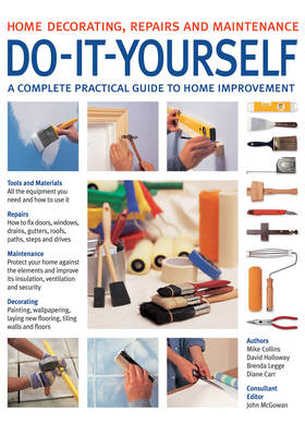 Do-it-Yourself: A Complete Beginner's Home Improvement Manual (Paperback)