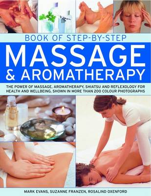 Book of Step-by-step Massage and Aromatherapy (Paperback)