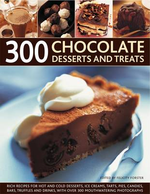 300 Chocolate Desserts and Treats (Paperback)