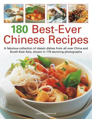 180 Best Ever Chinese Recipes (Paperback)