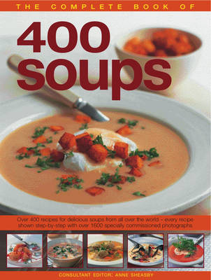 Complete Book of 400 Soups (Paperback)