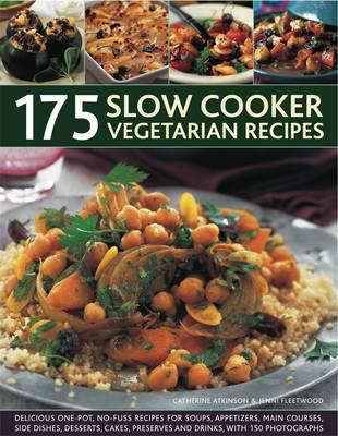175 Slow Cooker Vegetarian Recipes (Paperback)