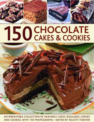 150 Chocolate Cakes and Cookies (Paperback)