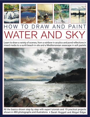 How to Draw and Paint Water and Sky (Paperback)