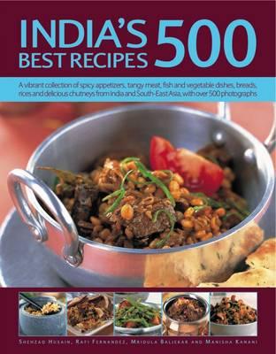 India's 500 Best Recipes (Paperback)