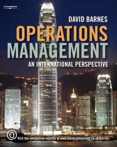 Operations Management: An International Perspective (Paperback)