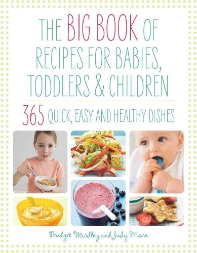 Big Book of Recipes for Babies, Toddlers & Children (Hardback)