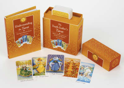 """""""The Truth-Seeker's Tarot: Oracle cards of clarity, insight and wisdom How to Read the Tarot / 78 x 4-colour cards"""" (Hardback)"""