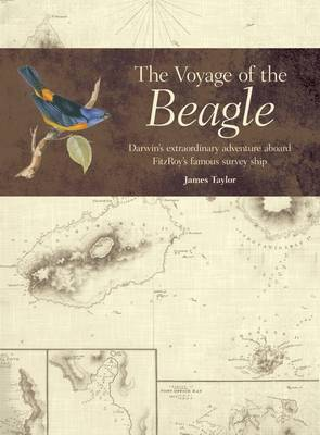 The Voyage of the Beagle: Darwin's Extraordinary Adventure in Fitzroy's Famous Survey Ship (Hardback)