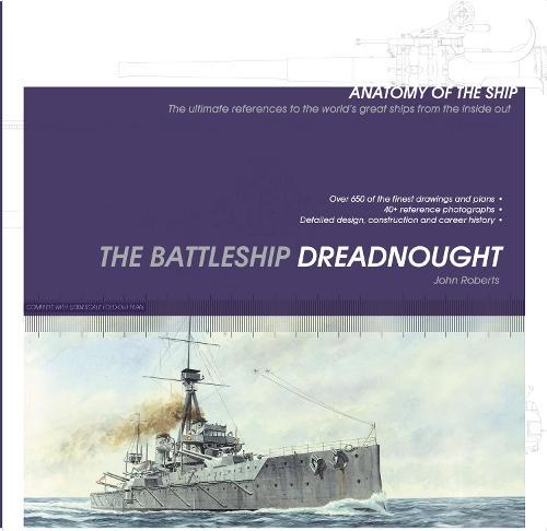 ANATOMY OF THE SHIP BATTLESHIP DREADNOUGHT (Paperback)