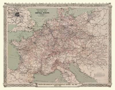 bradshaws continental railway map of central europe 1913 by rh waterstones com bradshaw's continental railway guide full edition bradshaw's continental railway guide pdf