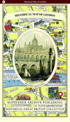 Historical Map of London - Historical Great Britain Collection 5 (Paperback)