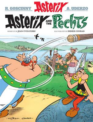 Asterix and the Pechts (Paperback)
