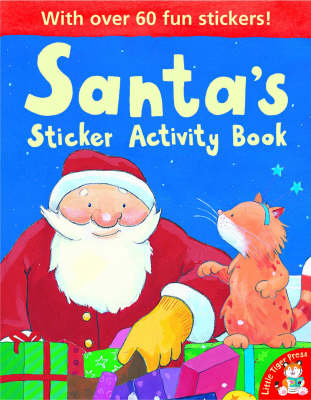 Santa's Sticker Activity Book (Paperback)