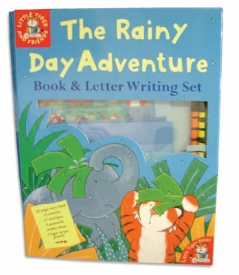 The Rainy Day Adventure: Book & Letter Writing Set (Paperback)