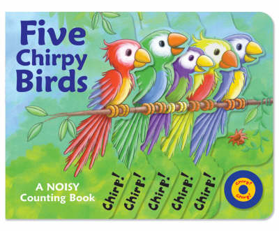 Five Chirpy Birds (Board book)