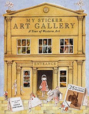 My Sticker Art Gallery: A Tour of Western Art - My Sticker Art Gallery (Paperback)