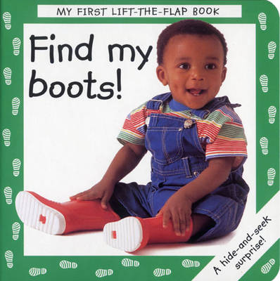Find My Boots! (Board book)