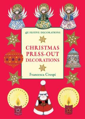 Christmas Press-out Decorations (Paperback)