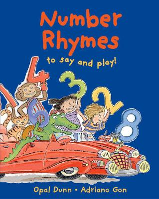 Number Rhymes to Say and Play (Paperback)