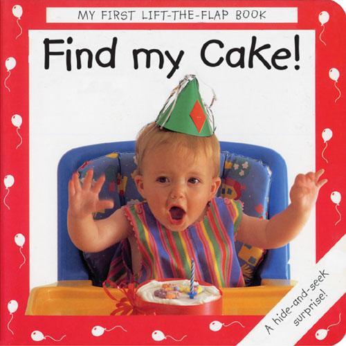 Find My Cake! (Board book)