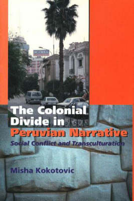 The Colonial Divide in Peruvian Narrative: Social Conflict and Transculturation (Hardback)