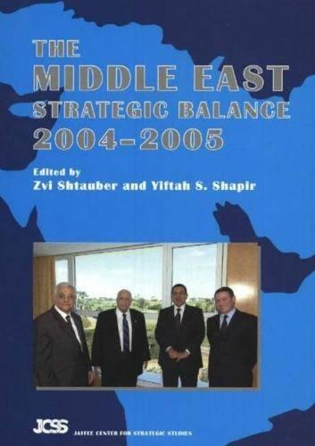 Middle East Strategic Balance: 2004-2005 (Paperback)