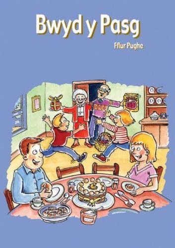 Cyfres Hwyl Drwy'r Flwyddyn: Bwyd y Pasg (Llyfr Mawr) (Paperback)