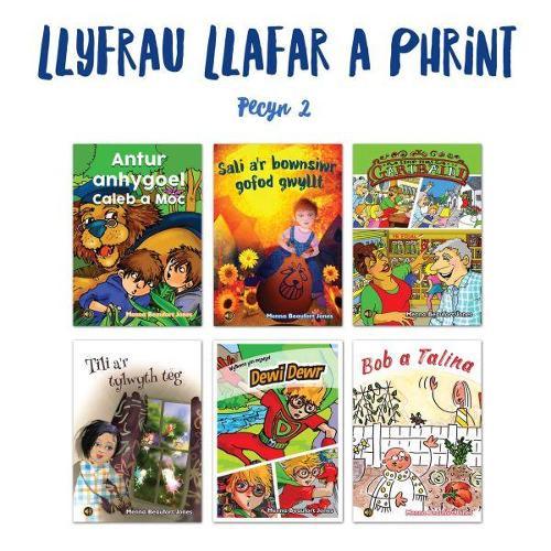 Llyfrau Llafar a Phrint - Pecyn 2 (Paperback)