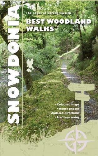 Carreg Gwalch Best Walks: Snowdonia Woodlands (Paperback)