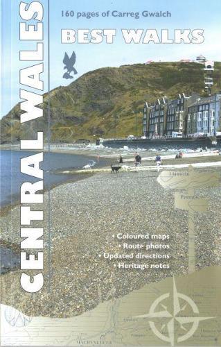 Carreg Gwalch Best Walks: Central Wales (Paperback)