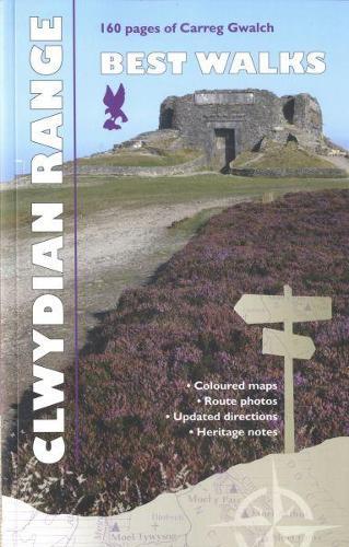 Carreg Gwalch Best Walks: The Clwydian Range (Paperback)