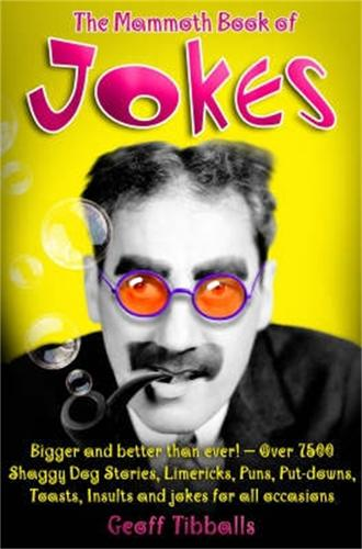 The Mammoth Book of Jokes New edn - Mammoth Books (Paperback)