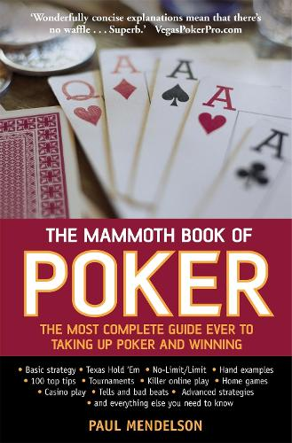 The Mammoth Book of Poker - Mammoth Books (Paperback)