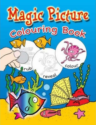 Seaside Magic Picture and Colouring Book (Paperback)