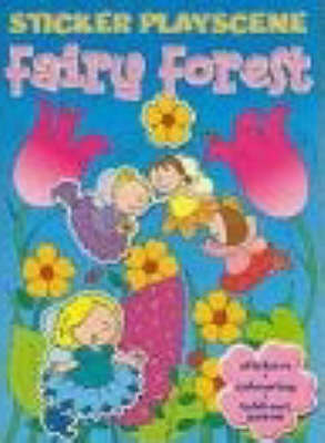 Fairy Forest Sticker Playscene (Paperback)