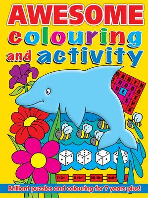 Awesome Colouring and Activity Book (Paperback)