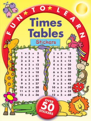 Time Tables Stickers - Fun to Learn S. (Paperback)