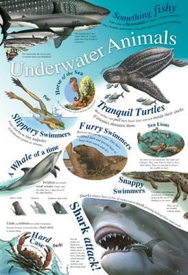 Underwater Animals - Natural History Wallchart (Wallchart)