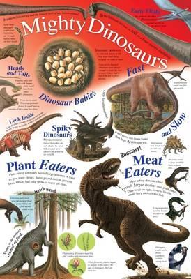 Mighty Dinosaurs - Natural History Wallchart (Wallchart)