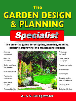 The Garden Design and Planning Specialist - Specialist Series (Paperback)