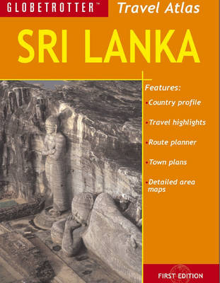 Sri Lanka - Globetrotter Travel Atlas (Paperback)