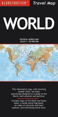 World - Globetrotter Travel Map (Sheet map, folded)