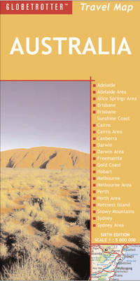 Australia Travel Map - Globetrotter Travel Maps (Sheet map, folded)